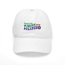 Proud to be Irish and Filipino Baseball Cap