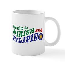 Proud to be Irish and Filipino Mug