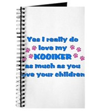 love my kooiker Journal