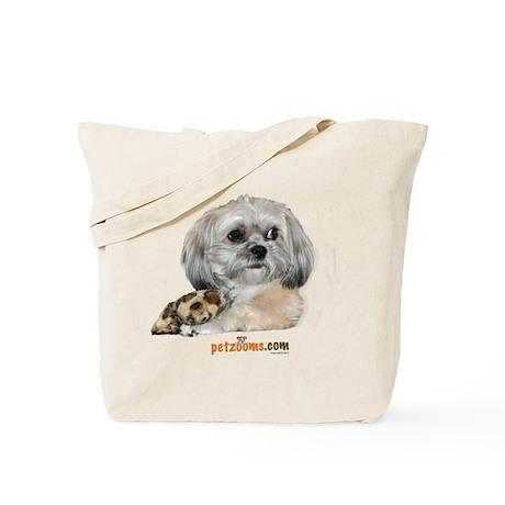 Zoe with Bone Tote Bag