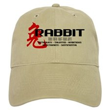 Year of The Rabbit Cap