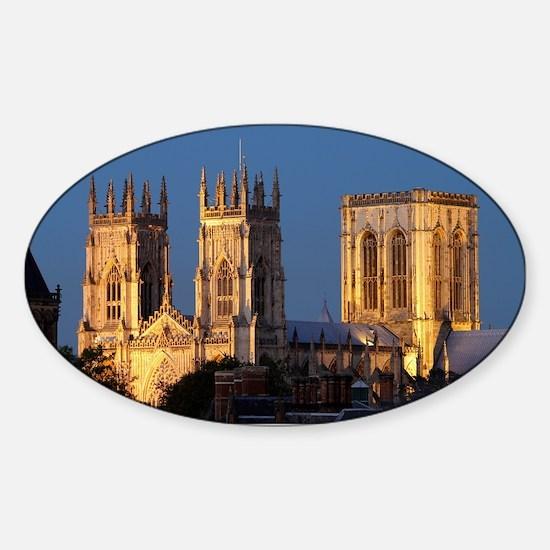 Cute Church of england Sticker (Oval)
