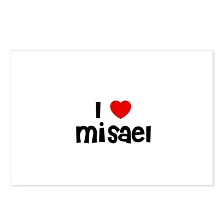 I * Misael Postcards (Package of 8)
