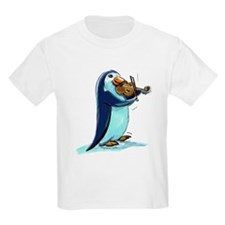pEnGuIn ViOliNiSt Kids T-Shirt