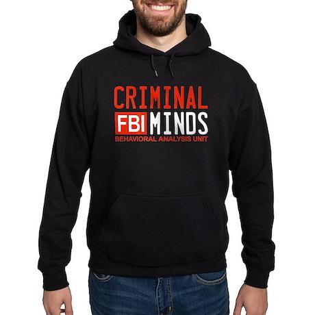 Criminal Minds FBI Hoodie (dark)