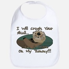 Otter Skull Crush Bib