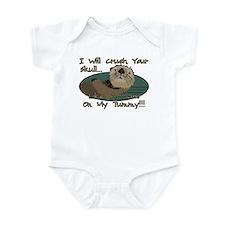 Otter Skull Crush Infant Bodysuit
