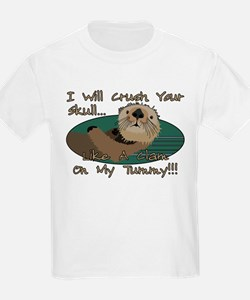 Otter Skull Crush T-Shirt