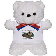 Otter Skull Crush Teddy Bear