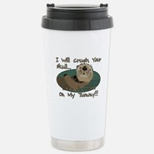 Otter Skull Crush Stainless Steel Travel Mug