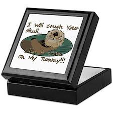 Otter Skull Crush Keepsake Box
