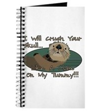 Otter Skull Crush Journal