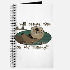 Otter Skull Crush Journal