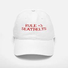 Rule #3 Baseball Baseball Cap