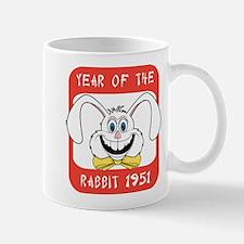 1951 Year of The Rabbit 1951 Small Small Mug