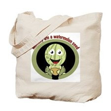 my mommy ate a watermelon see Tote Bag