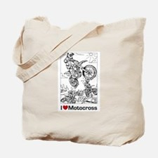I love Motocross gifts Tote Bag