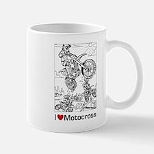I love Motocross gifts Mug