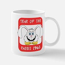 1963 Year of The Rabbit 1963 Small Small Mug
