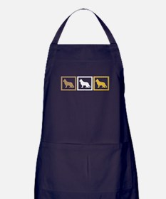 German Shepherd Dog Apron (dark)