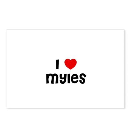 I * Myles Postcards (Package of 8)