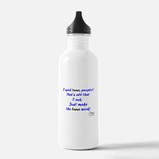 Make Tuna Work Water Bottle