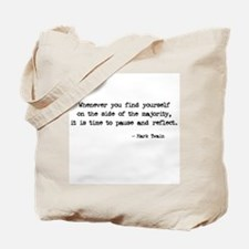 Pause and Reflect Tote Bag