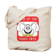 1975 Year of The Rabbit 1975 Tote Bag