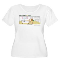 The Passion Women's Plus Size Scoop Neck T-Shirt