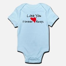Love You Forever and Always Infant Bodysuit