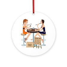 AUsome Sushi Girls Ornament (Round)