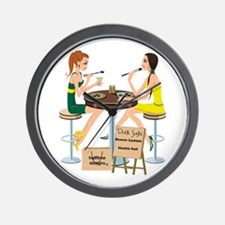 Oregon Sushi Girls Wall Clock
