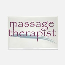 Massage Therapist Rectangle Magnet
