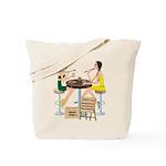 Packers Sushi Girls Tote Bag
