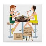 Packers Sushi Girls Tile Coaster