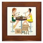 Packers Sushi Girls Framed Tile