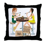 Packers Sushi Girls Throw Pillow