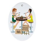 Packers Sushi Girls Ornament (Oval)