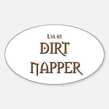 Cute Alliance druid Sticker (Oval)