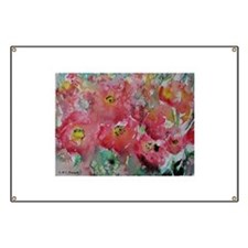 Poppies, Beautiful, Bright, Banner