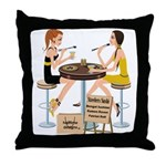 Steelers Sushi Girls Throw Pillow