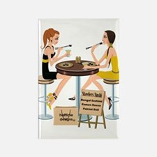 Steelers Sushi Girls Rectangle Magnet
