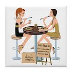 Saints Sushi Girls Tile Coaster