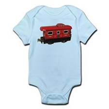 Caboose Infant Bodysuit