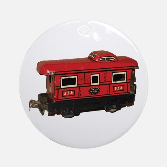 Caboose Ornament (Round)