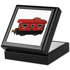 Caboose Keepsake Box
