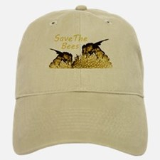 Save The Bees Baseball Baseball Cap