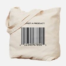 I Am Not A Product Barcode Tote Bag