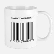 I Am Not A Product Barcode Mug