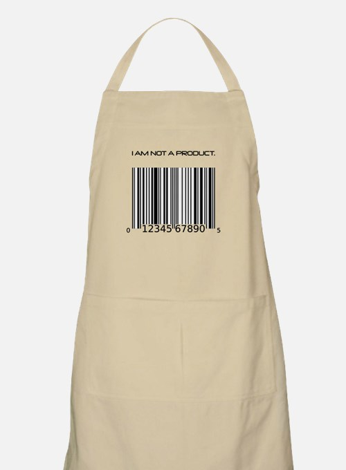 I Am Not A Product Barcode Apron
